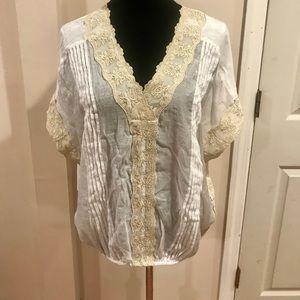Alfani lace blouse